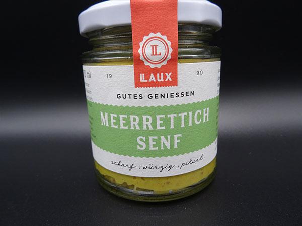Laux - Meerrettich Senf - Dorfladen Klausen